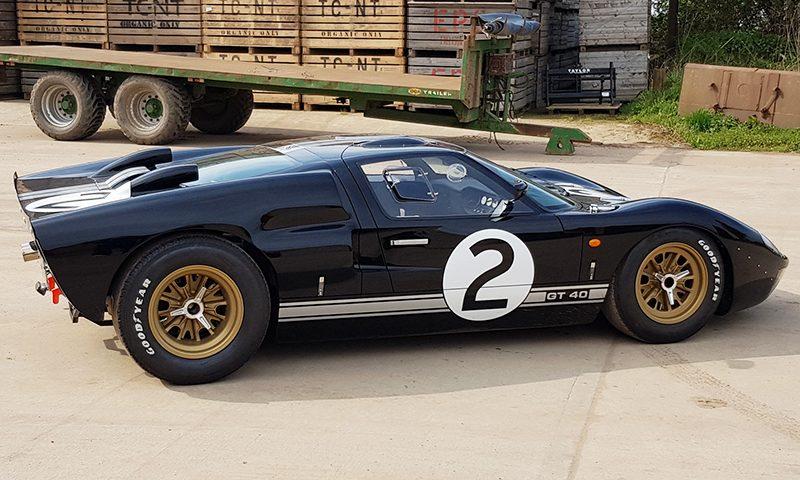 Le Mans Coupes. GT40