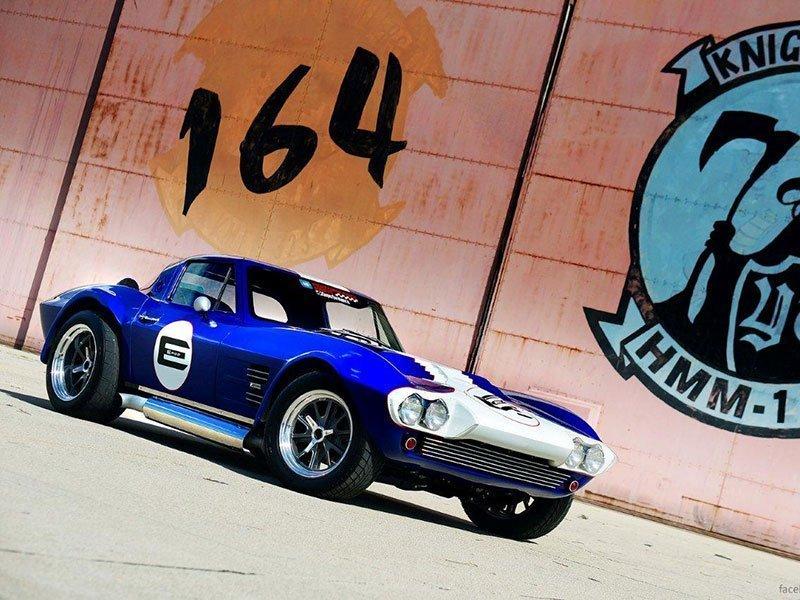 Le Mans Coupes. Corvette Grand Sport