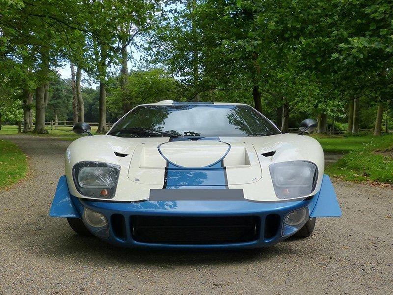 Le Mans Coupes GT40