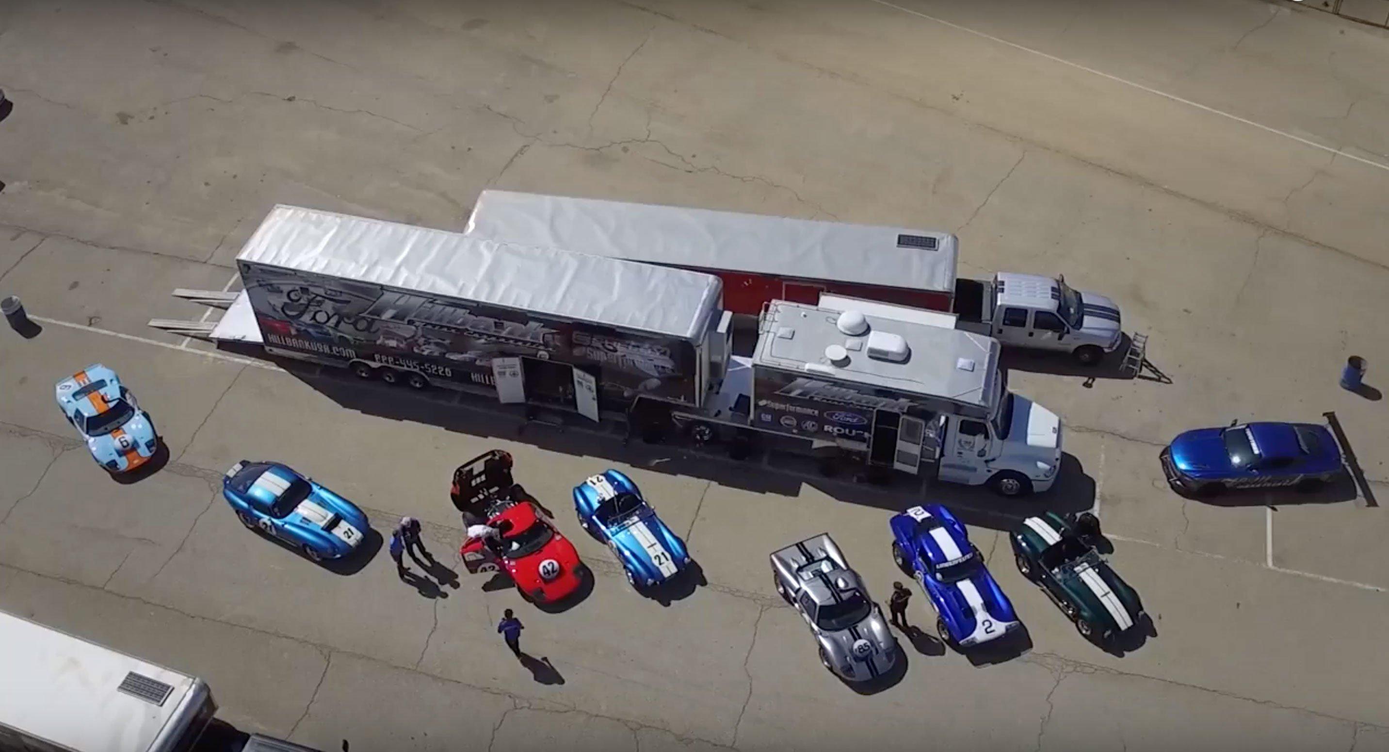 Le Mans Coupes. Boys & their toys.